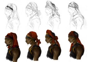 kind of turbans by Ingmar-Nopens
