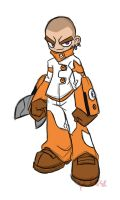 Cutman idea doodle by rongs1234