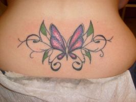 Butterfly by horrorink
