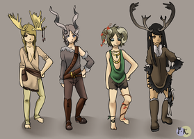 Horned Adoptables! CLOSED by Fraught-Adopts