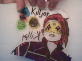Party Poison Shrinky Dink by greenchemicalfires7x