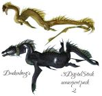 Seaserpent pack 2 by 3DigitalStock