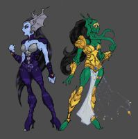 Daughters of Evil by thejason10