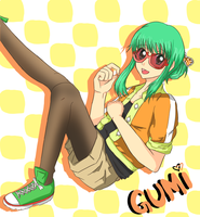 Vocaloid - GUMI by Aquarika