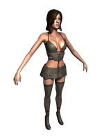 Alpha Protocol - Lazlo  girl 1 by deant01
