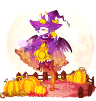 PKMNA :: Birthday Witch by KeIdeo