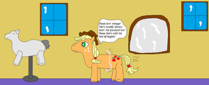 AJ and the english stylist pony pt.2 by thetrans4master