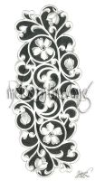 Chinda's Filigree Tattoo by disdaindespair