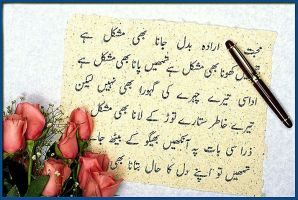 Urdu Poetry by Mumtazzaidi