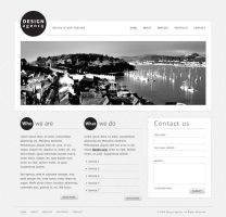 Design Agency HTML Template by guitarsimo80