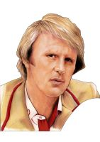 The Fifth Doctor by westleyjsmith