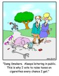 Dang Smokers by Conservatoons