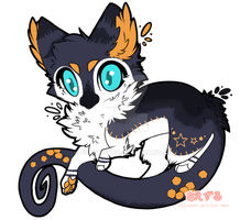 Dragon Cat Adopt Auction :CLOSED: by PilusAdopts
