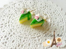 Pandan Slice Cake by AngelicLight100