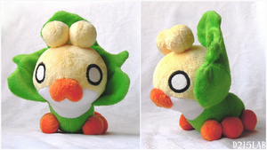 Sewaddle Plush by d215lab