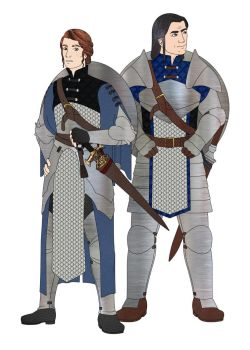 Warden Commander and Second-in-Command by kakashi-no-ai