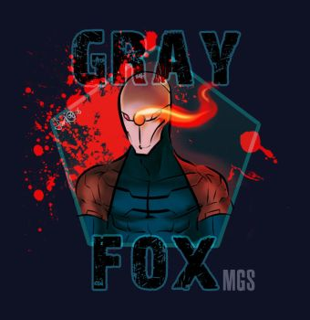 Gray Fox - Metal Gear Solid by DrChipMunk