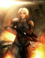 Mass Effect 2 - Freya Shepard by Mecha-Potato-Alex