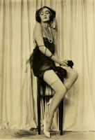 Vintage Stock - Flapper 4 by Hello-Tuesday
