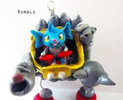 Rumble charm by Thekawaiiod