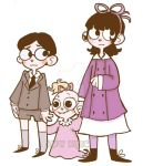 Baudelaire Orphans by SimplyBrillig