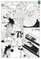Kid Goku ssj by bloodsplach