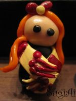 Ginny Weasley Magnet by SugiAi