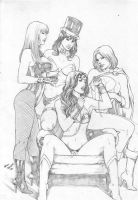 DC Girls by MarcelloHolanda