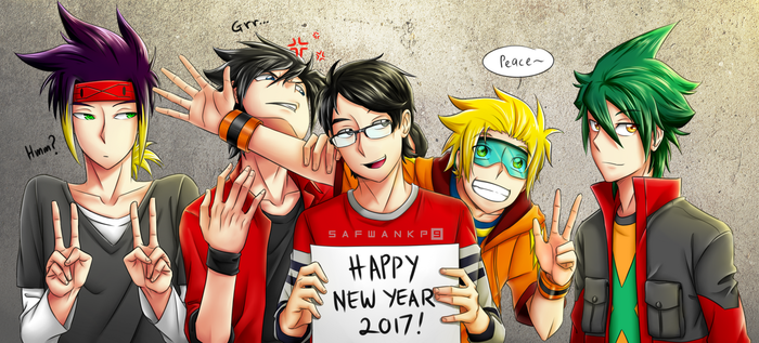 Happy New Year 2017 by flamex99