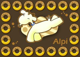 Alpi the goat by hyky