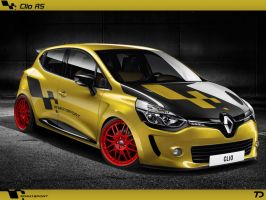 Renault Clio RS (2013) [RENDER] by TeofiloDesign