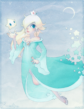 Super Mario Galaxy: Rosalina by lexxercise