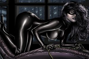catwoman nigth by Remixion
