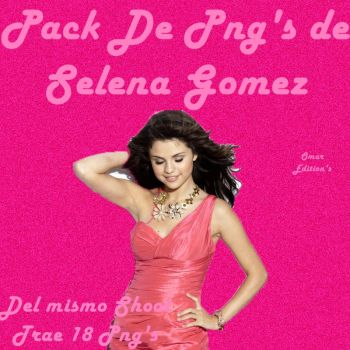 Pack Png de Selena Gomez by OmarEditions