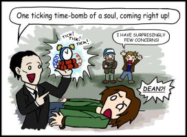 SPN: Spectacular Idea, Dean... by blackbirdrose