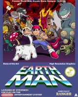 Earth Man Box art by Kaigetsudo