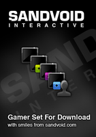 Free Gamer Icons For Download by Sandvoid