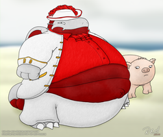 VOTED - Pudgy Pirate by The-Fat-Red-Dragon