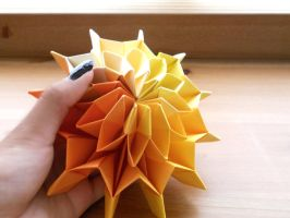 Sunshine - Origami Fireworks 3 by Fail-to-Pale