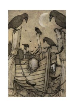 New England Gothic illustration number 9 by CopperAge