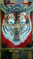 Psy Tiger Rage by ganjatime