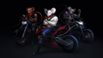 Biker Mice from Mars by LimonTea