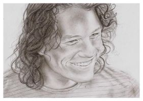 Heath Ledger by Zlou
