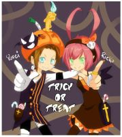 Trick or treat? by Yufei