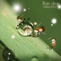 Rain Drop Monster by EverKiss