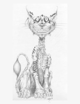 Cheshire Cat- American McGee by Ciuin