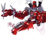 Deadpool sketch by SketcheeBizniz
