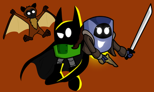 BAT-E and MIN-A by CKToonStudios