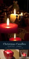Christmas Candles - Stock Pack by kuschelirmel-stock