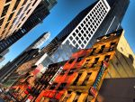 Restaurant Row New York City by MarkKalan